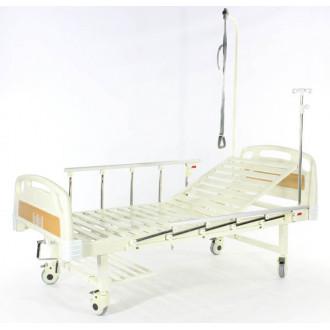 Кровать c механ.приводом Belberg 17B-1Л, 1 функция, пластик (без матраса+столик) в Пятигорске