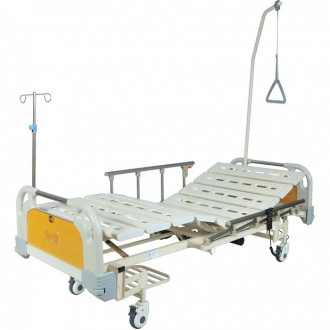 Кровать функциональная с электроприводом Belberg 6-67 (2 функции) с ростоматом, (без матраса) пластик в Пятигорске