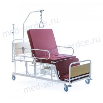 Электрическая медицинская кровать с кардио-креслом Belberg 4-02 с санитарным оснащением в Пятигорске