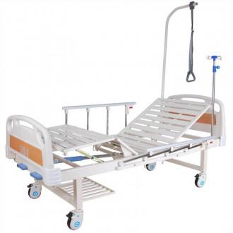 Кровать c механ.приводом Belberg 8-18H, 2 функции пластик (без матраса+столик) в Пятигорске