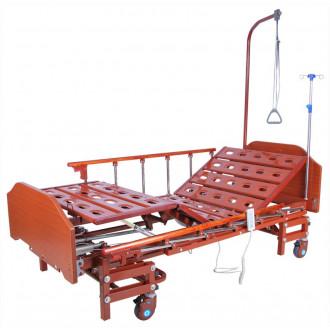 Кровать с электроприводом Belberg 6-066H, 3 функц. с ростоматом ЛДСП (без матраса+столик) в Пятигорске