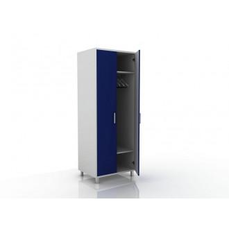 Шкаф для одежды (в комплекте перекладина хром, полки) 105-001-1 в Пятигорске
