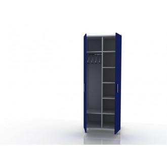 Шкаф для одежды (в комплекте перекладина хром, полки) 105-001-9 в Пятигорске