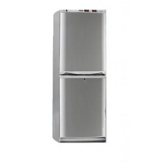 Холодильник фармацевтический двухкамерный ХФД-280 (140/140 л) с дверями из металлопласта серебряного цвета в Пятигорске