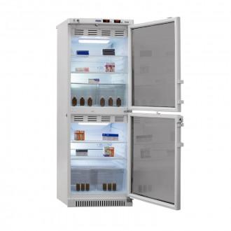 Холодильник фармацевтический двухкамерный ХФД-280(ТС) (140/140 л) с тонированными стеклянными дверями в Пятигорске