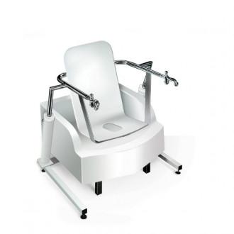Медицинская гинекологическая сидячая ванна с подъемником Модель 2.9-4 в Пятигорске