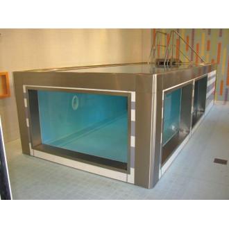 Модульный бассейн из нержавеющей стали для реабилитации в воде в Пятигорске