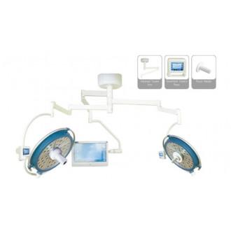 Светодиодный хирургический светильник двух купольный YDZ700/500 plus со встроенной камерой и монитором в Пятигорске