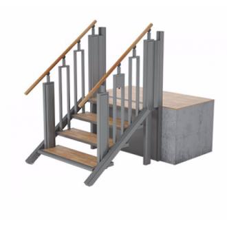 Лестница-трансформер FlexStep V2 / 4 ступеньки / высота подъёма до 925 мм в Пятигорске