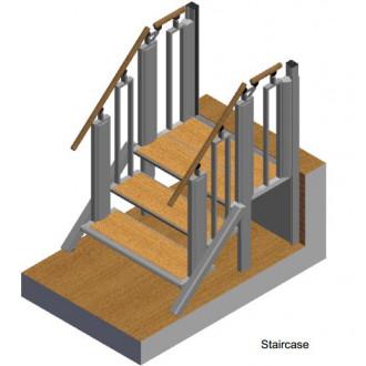 Лестница-трансформер FlexStep V2 / 3+1 ступеньки / высота подъёма до 740 мм в Пятигорске